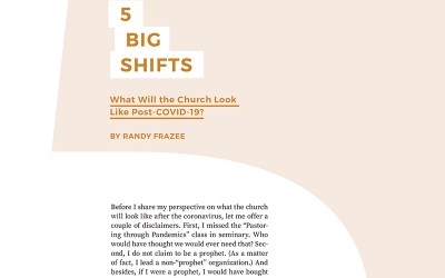 5 Big Shifts: What Will the Church Look Like Post-COVID-19?