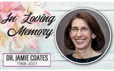 KCU Worship Professor Jamie Coates Passes Away (Plus News Briefs)