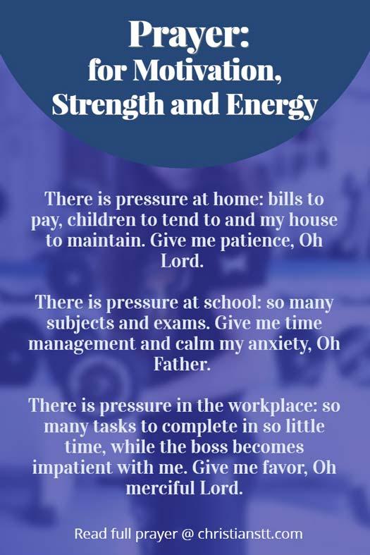 inspirational morning prayers for