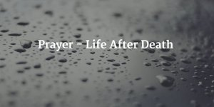 prayer for those grieving the loss of loved ones