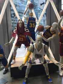 At the NBA Store