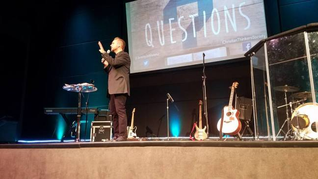 Jeremiah Johnston at Resound Church in Portland, OR