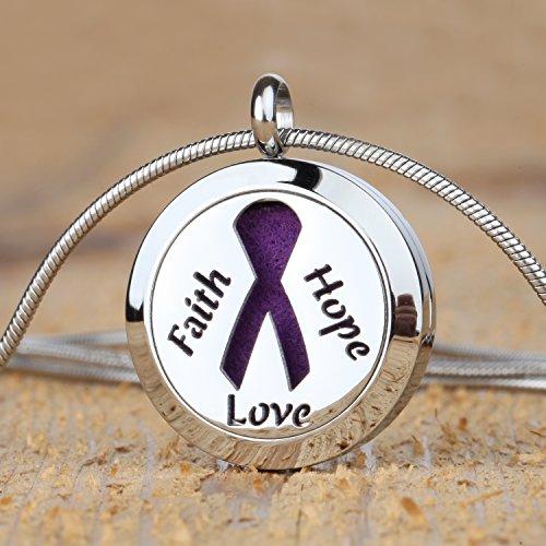 Faith hope love aromatherapy essential oil diffuser necklace locket pe faith hope love aromatherapy aloadofball Gallery