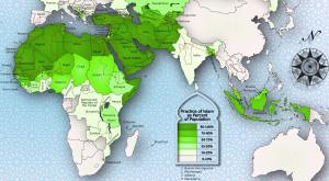 The Muslim majority nations. Which of these will be the ten kings?