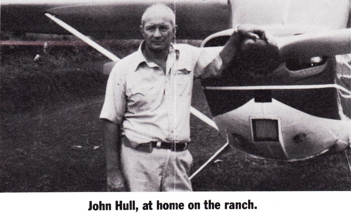 John Hull on his ranch in Costa Rica