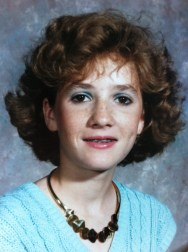 Me. Circa 1985. That necklace weighs more than I do.
