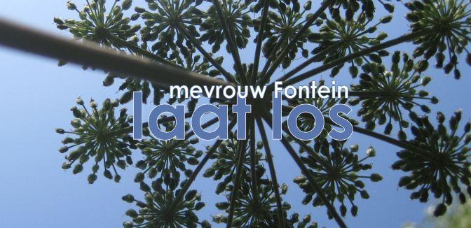 mevrouw Fontein laat los #13 – over voorspoed en verandering