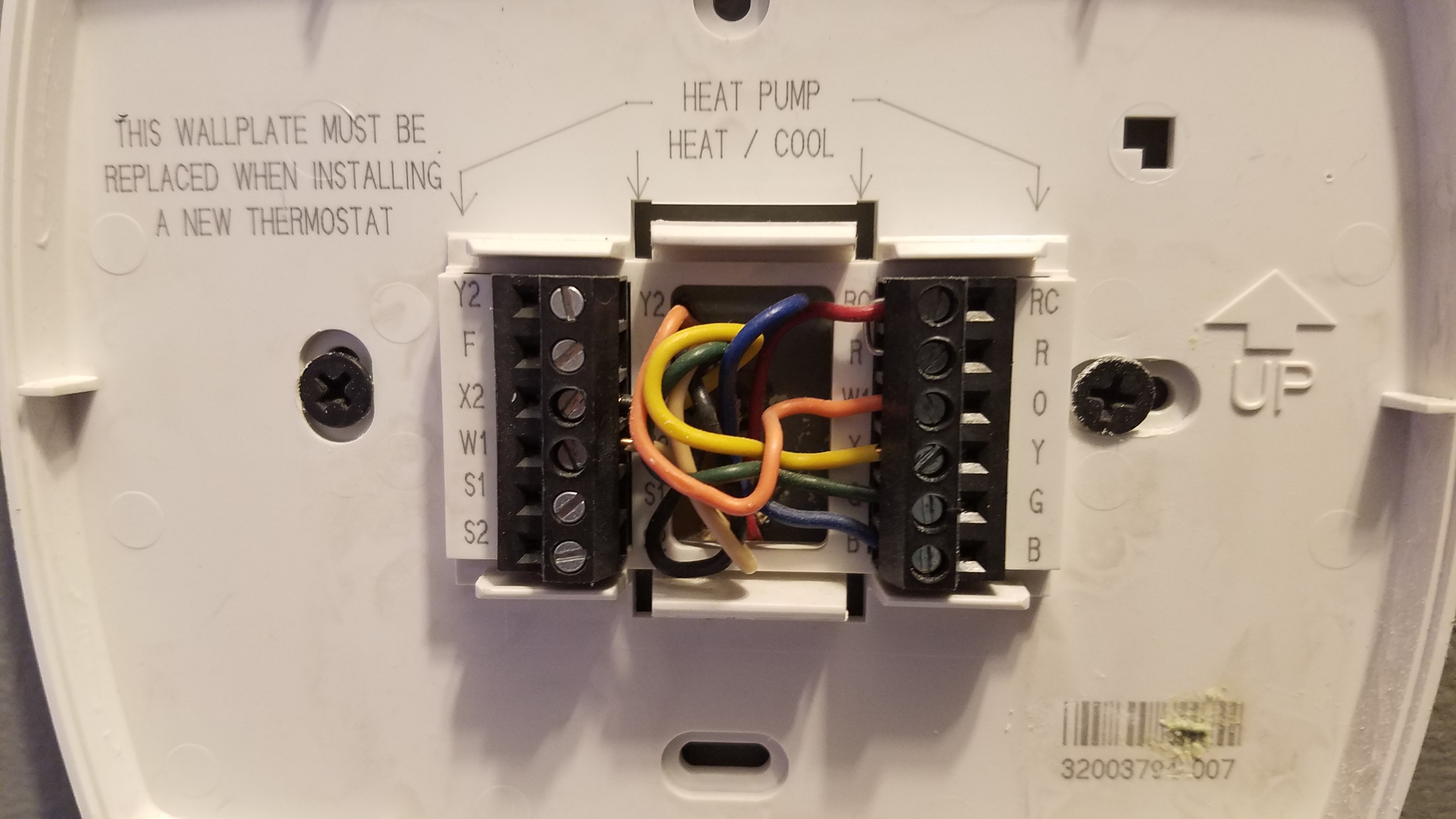 medium resolution of nest thermostat and heat pumps w aux chris tierney rh christierney com goodman heat pump thermostat wiring diagram goodman air handler wiring diagrams