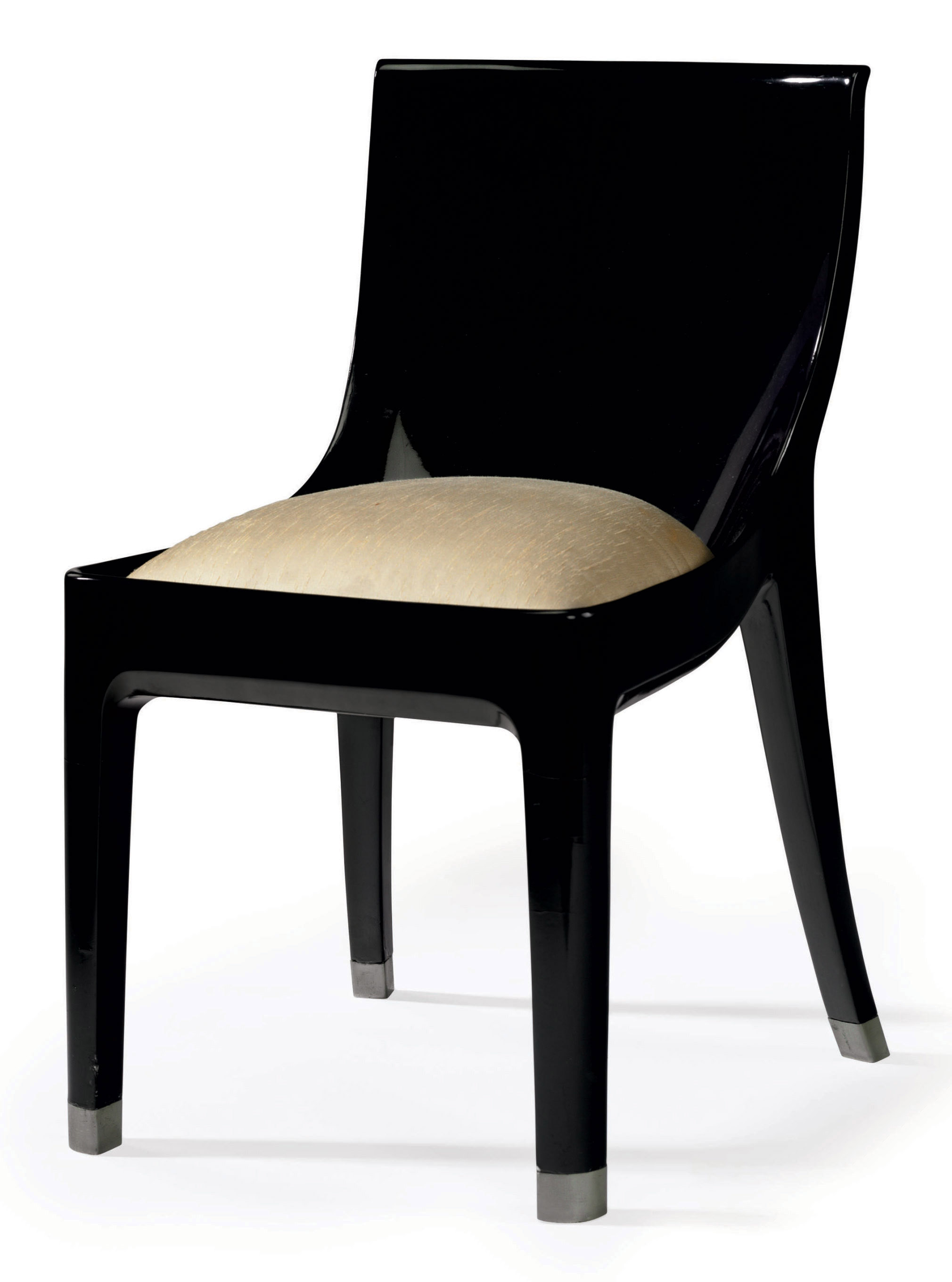 Composite Chairs Jean Dunand 1877 1942 A Lacquered Cast Stone Composite