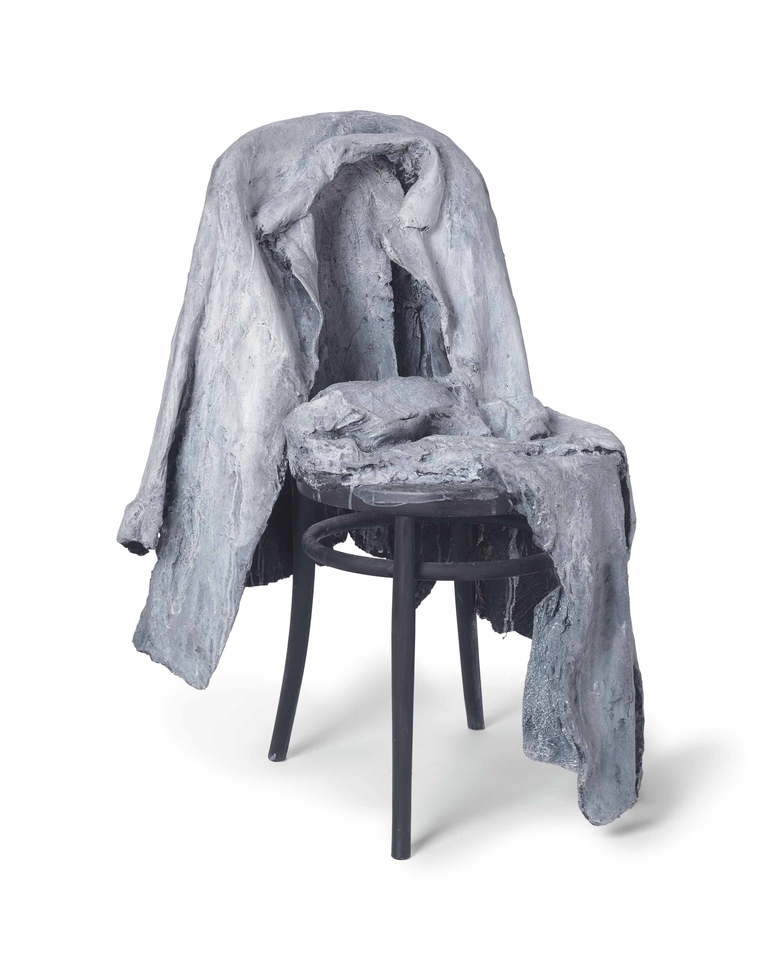 Chair Pants George Segal 1924 2000 Jacket Pants On Chair 20th Century