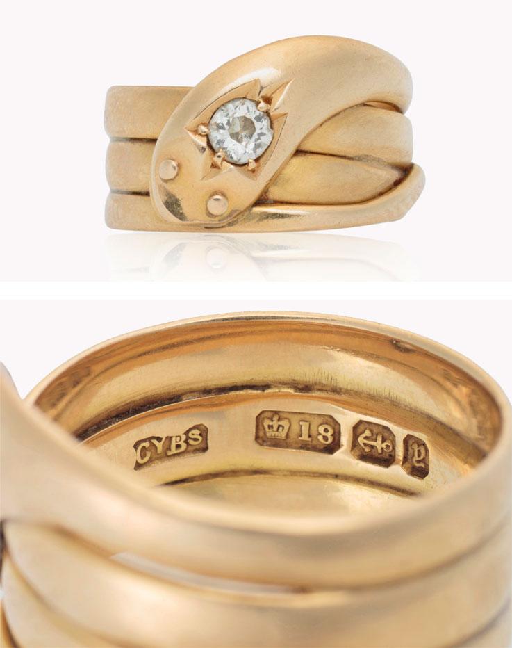 Jewelry Mark : jewelry, Specialist:, Hallmark, Piece, Vintage, Jewellery, Christie's