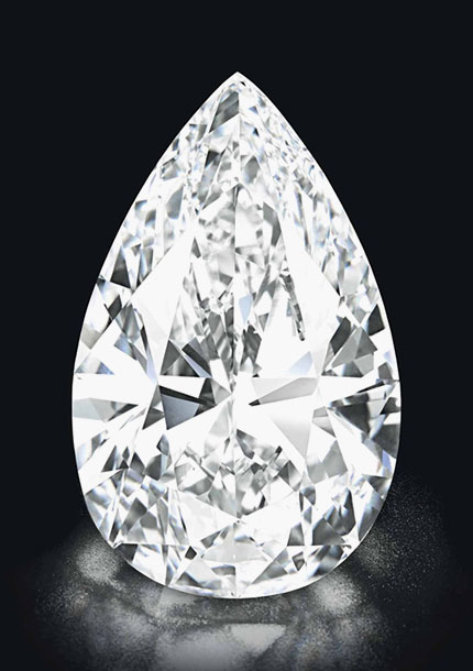 The World's Most Soughtafter Pearshaped Diamonds