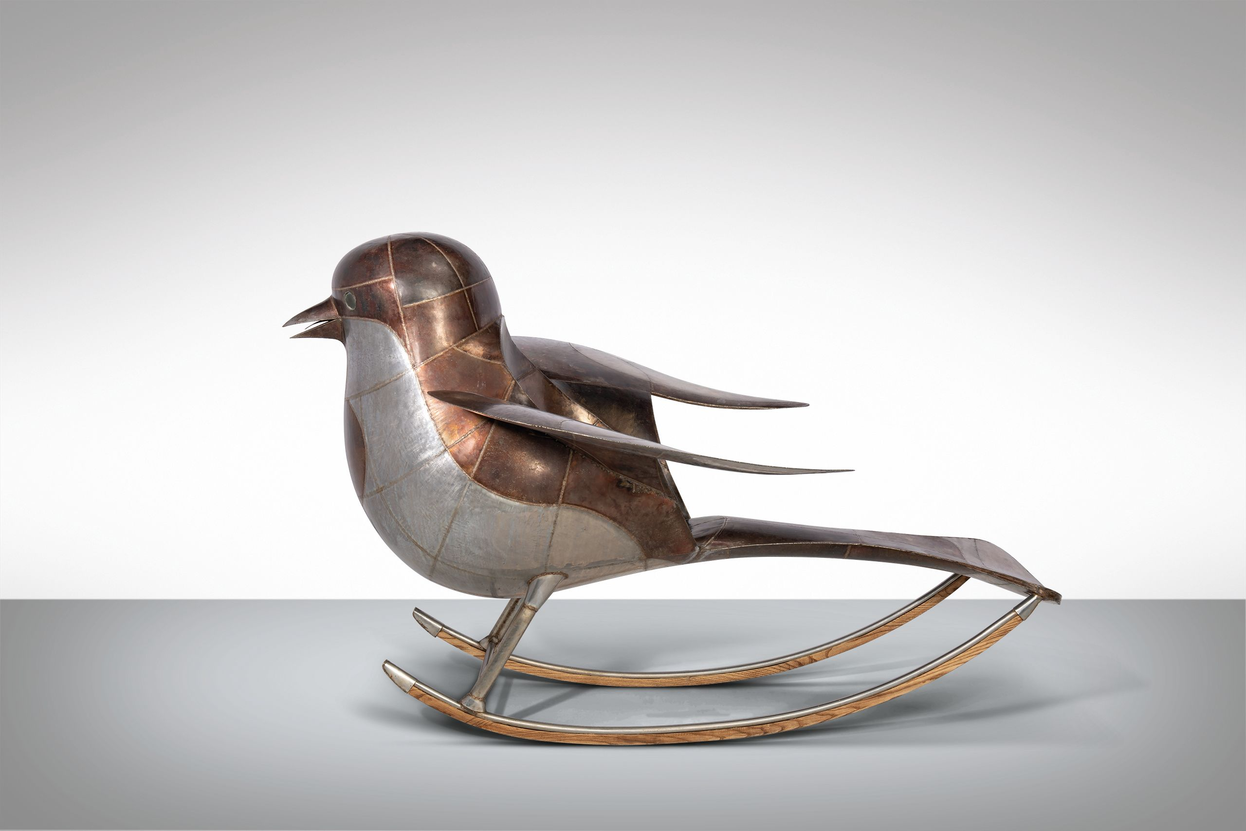 lalanne oiseau de jardin a bascule
