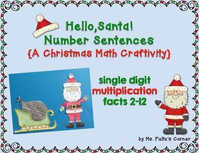 http://www.teacherspayteachers.com/Product/Santa-Math-Craftivity-Multiplication-and-Divsion-Number-Sentences-1013177