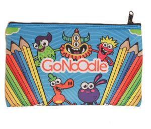 Go Noodle pencil pouch