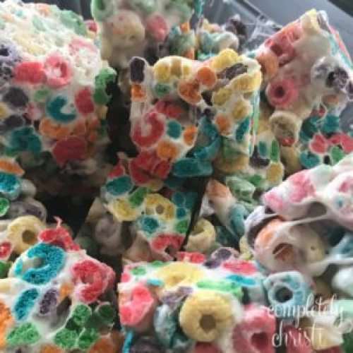 fruit loop snack bars