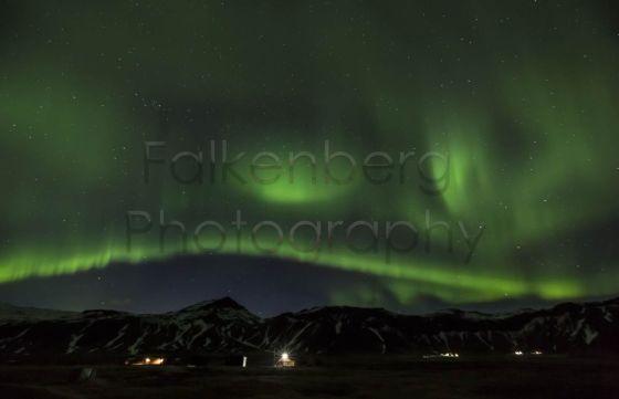 Europa, Island, Halbinsel, Snaefellsnes, bei Polarlicht