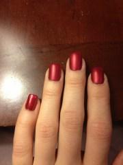 matte nail polish christina