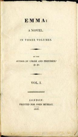 primera-edición-emma-portada-jane-austen-una-autora-indie-en-la-inglaterra-de-la-regencia-christina-birs