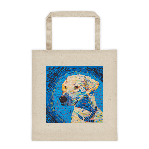 Van Gogh Dog – Liberty Tote bag
