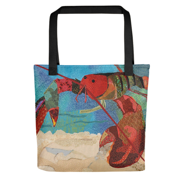 Lobster All-Over Tote bag