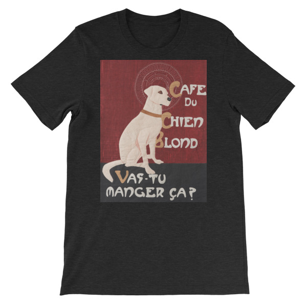 Short-Sleeve Unisex T-Shirt - Chien Blond