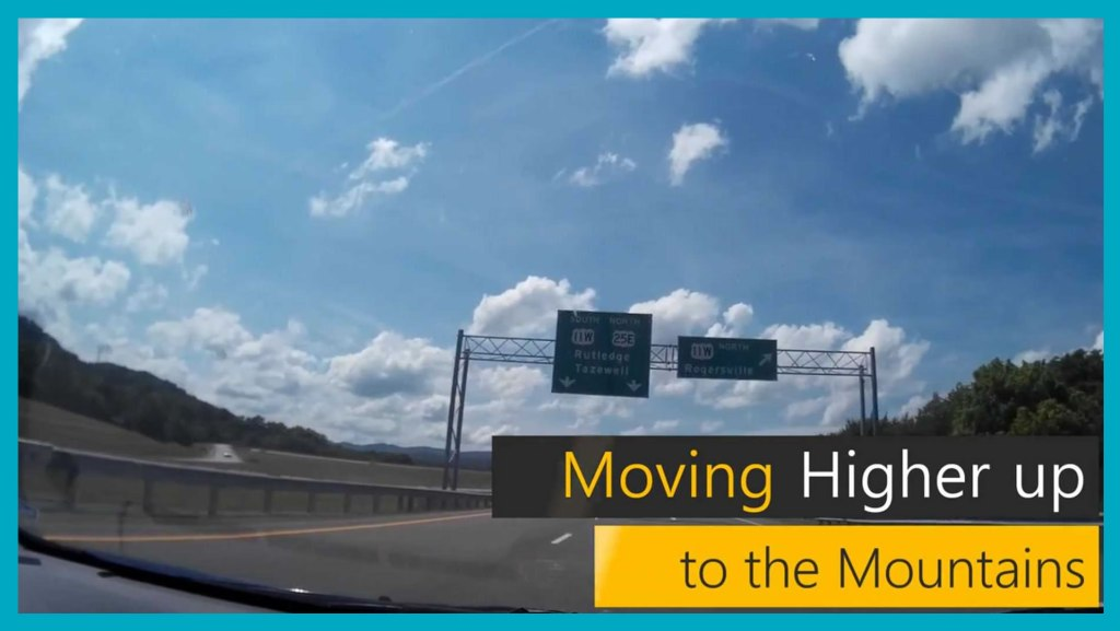 Moving Higher-up To The Mountains