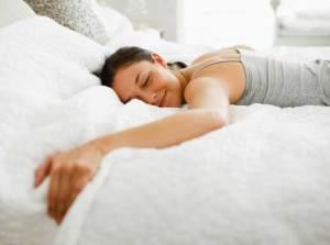 Woman Sleeping Fitness Motivation