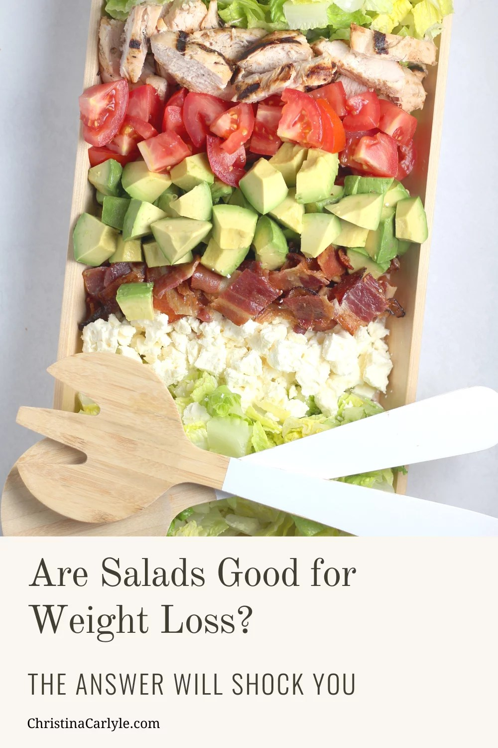 Are Salads Good for Weight Loss infographic