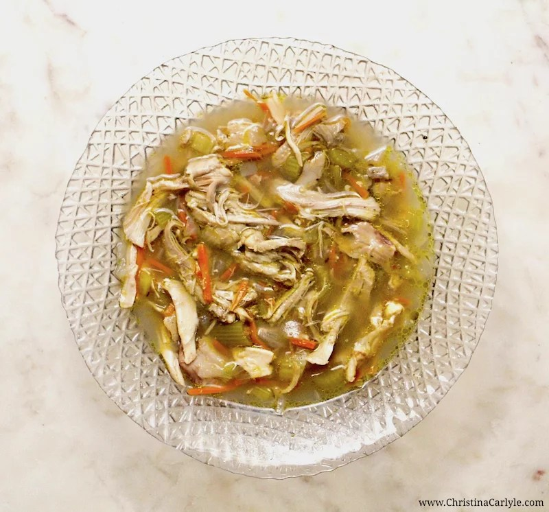 Healthy Chicken Soup Recipe Christina Carlyle