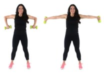 Scarecrow Extensions Arm Exercise done by trainer Christina Carlyle