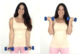 Bicep Curl Exercise Christina Carlyle
