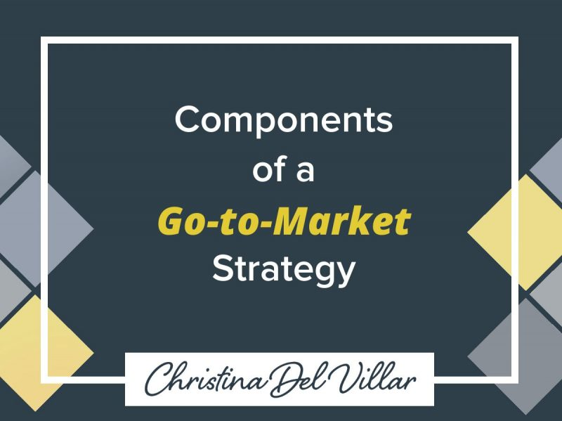 Components of a Go-to-Market Strategy