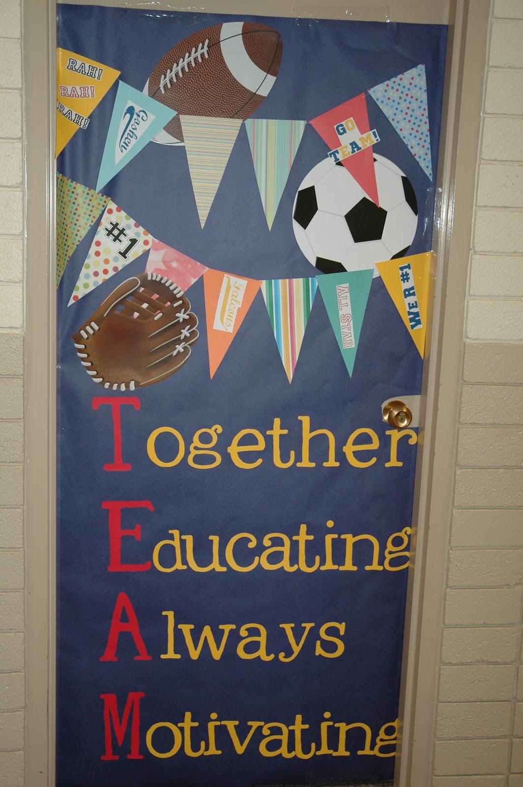 Teacher Appreciation Door Decorating Ideas