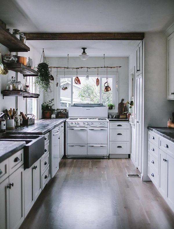 Chic Rustic Kitchens | adventures-in-cooking.com | design-vox.com