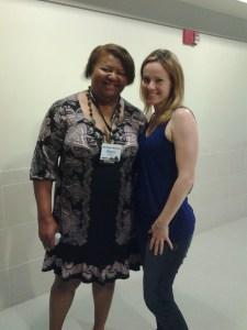Sherri and myself