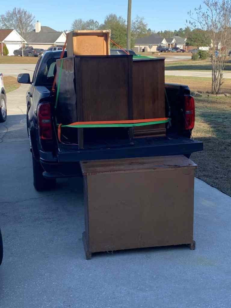 Truck Load of Free Furniture
