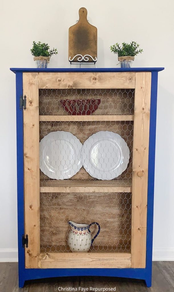 Repurposed chest of drawers into storage cabinet