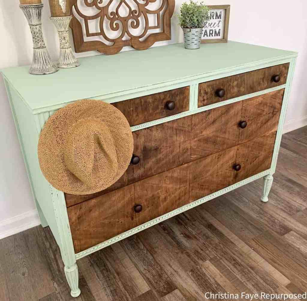 Side View of Dresser