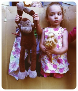 Puppet theatre in Vancouver, BC - Summer 2011