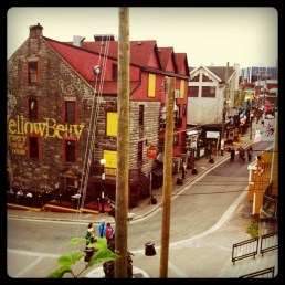 View down George Street, St. John's, NL - Summer 2011