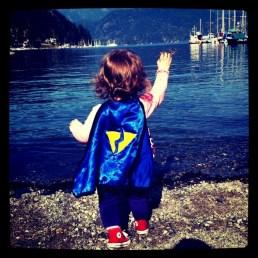 Super hero found in Deep Cove, BC - Fall 2011