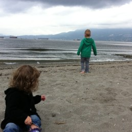 Kit's Beach in Vancouver, BC - Fall 2011