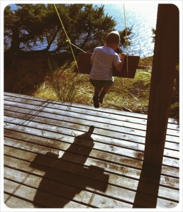 At The Hermitage on Bowen Island, BC - Fall 2011