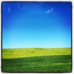 Blue sky country - Montana - July 2012