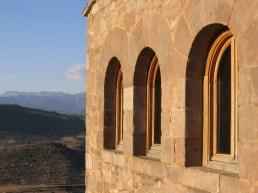 View from the castle - the Parador de Cardona in Cardona, Spain - Summer 2005