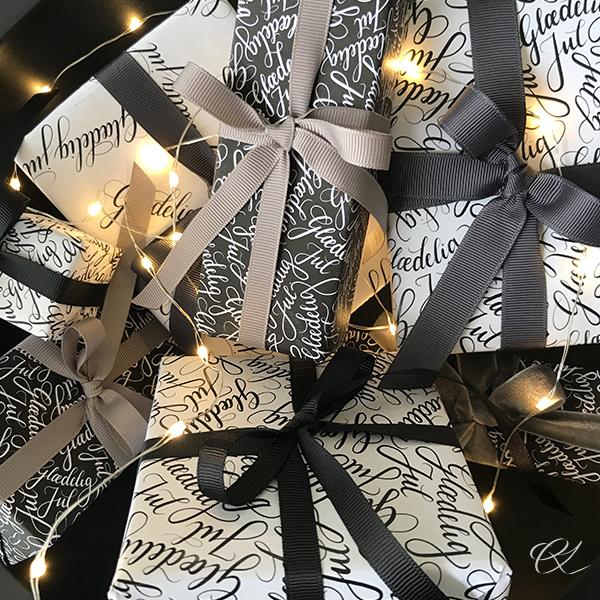Glædelig Jul - Designpapir