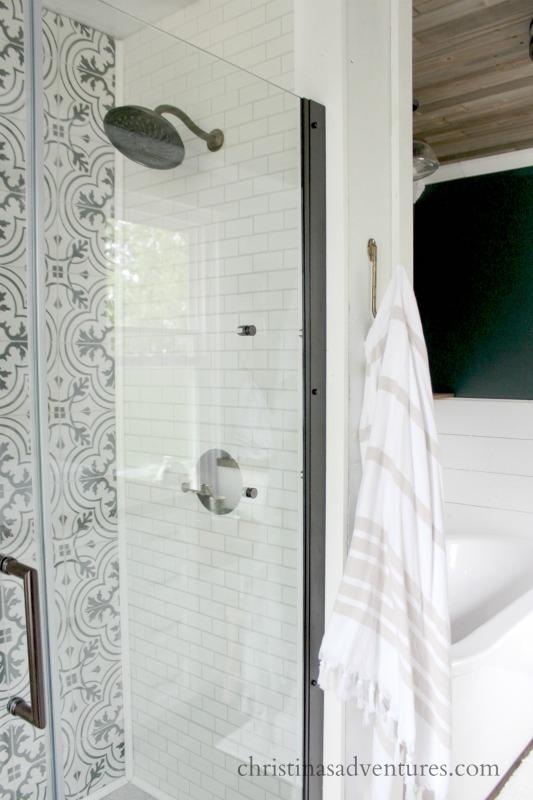 walk in shower design christina maria