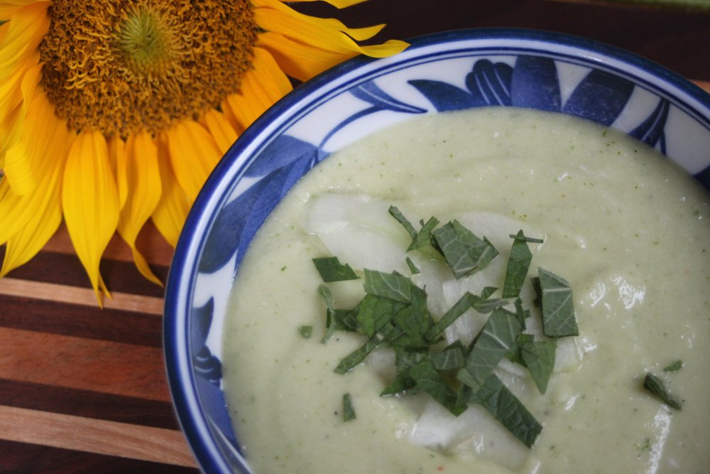 soup and sunflower