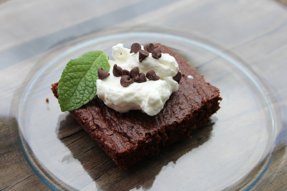 from-scratch brownies